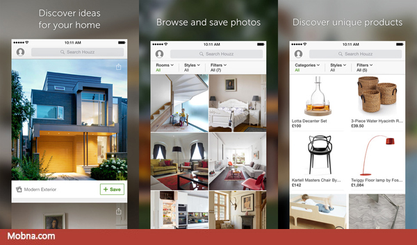 1-Houzz apps android