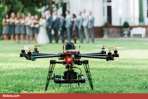 14-wedding Drones for aerial shots