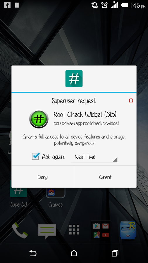 root-check-widget-1