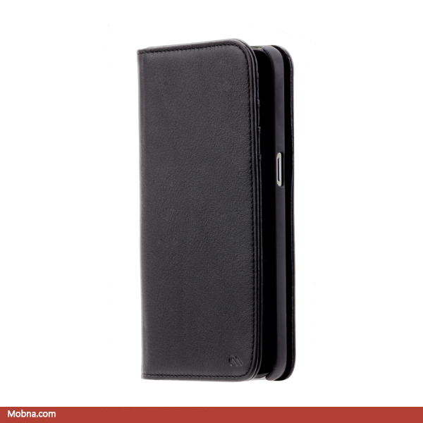 ۱-case-mate-wallet-folio-black-leather