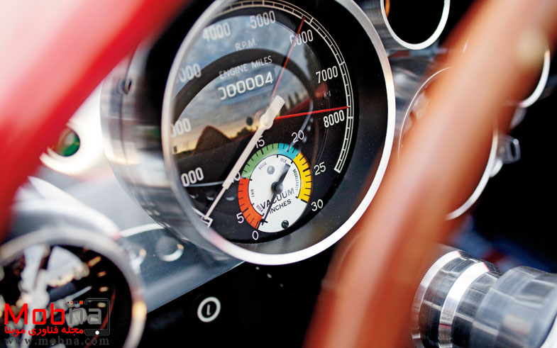 ۱۹۶۰-plymouth-xnr-concept-car-speedometer