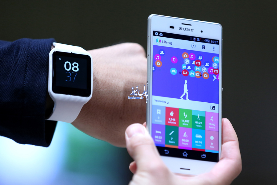 Images Of Sony Corp.'s SmartWatch 3 Wearable Device
