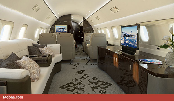۶- Lineage_1000_Ultra_Large_Executive_Jet_Interiors