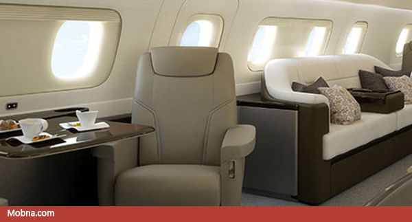 ۷- Lineage_1000_Ultra_Large_Business_Aircraft_Cabin