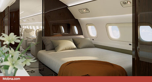 ۹- Lineage_1000_Ultra_Large_Business_Jets_Master_Suite